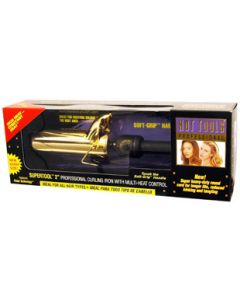 Hot Tools Curling Iron Gold Spring 2""