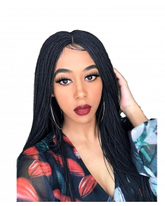 Senegal Micro Twist Lace Wig 22""