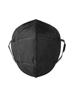Kn95 Respirator Face Mask 5-Pack (Black)