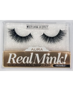 Aura Real Mink Lashes - Lavish