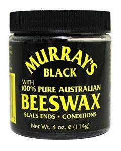 Murray's 100% Pure Australian Beeswax (Black)  4oz