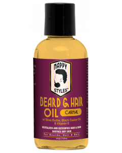 Nappy Styles Beard & Hair Oil Carnal