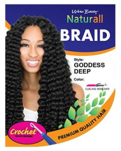 Urban Beauty Naturall Crochet Loop Goddess Deep Braid