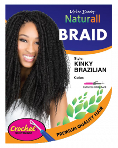 Urban Beauty Naturall Crochet Loop Naturall Kinky Brazilian Braid