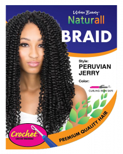 Urban Beauty Naturall Crochet Loop Peruvian Jerry Braid