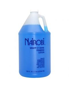 Nairobi Wrapp It Shine Foaming Lotion 1 Gal