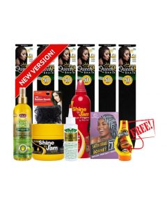 Protective Style Hair Care Bundle