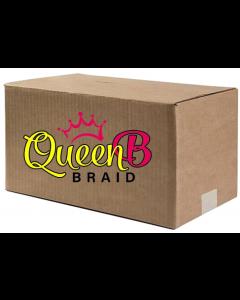 "Queen B 40"" Pre-Stretched Braiding Single Color 120 Piece Case"