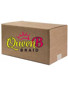 "Urban Beauty Pre-Pulled Queen B Braiding Hair 50"" (Single Color 120 Piece Case)"