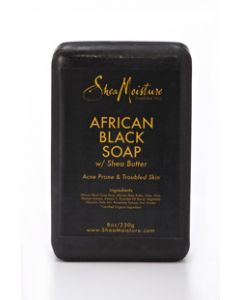 Shea Moisture African Black Soap 8 oz.