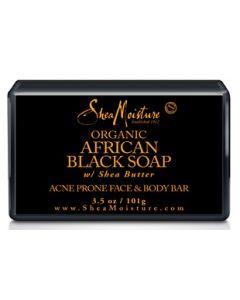 Shea Moisture African Black Soap Facial Soap 3.5 oz.