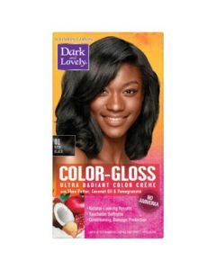 Dark & Lovely Hair Color C/G 01 Rich Black