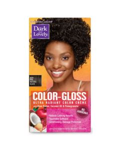 Dark & Lovely Hair Color C/G 02 Natural Black
