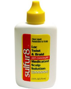Sulfur-8 Loc Twist & Braid Scalp Solution
