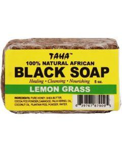 Taha Black Soap Lemon Grass