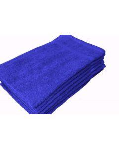 """Shop Towels 15"""" x 25"""" - Blue (1 Dozen)"""