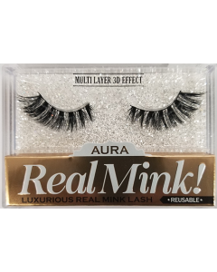 Aura Real Mink Lashes - Wing Of Angel